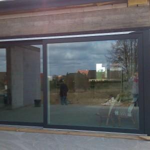 montaż drzwi tarasowych - realizacja 2