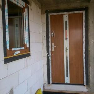 montaż drzwi - realizacja 1